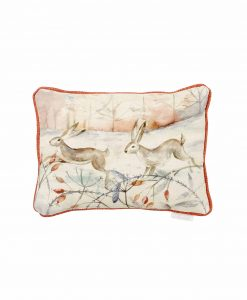 Voyage Maison Christmas Hare Cushion C180136