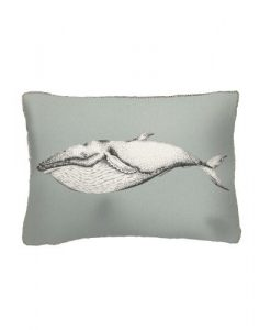 voyage maison humpback whale arthouse cushion AH17007