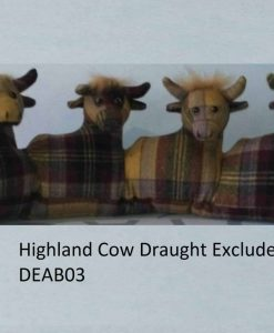 Highland Cow Draught Excluder – DEAB03