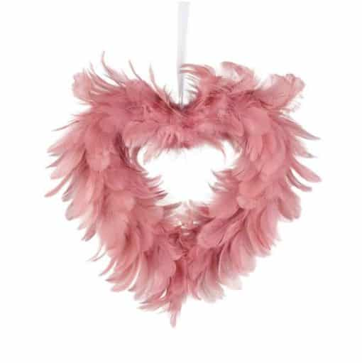 Parlane Hanging Heart Feathers 790841