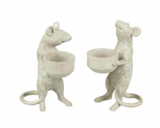 Parlane Mice T Light Holder set of 2