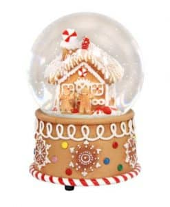 Gisela Graham Gingerbread House Music Dome 32448