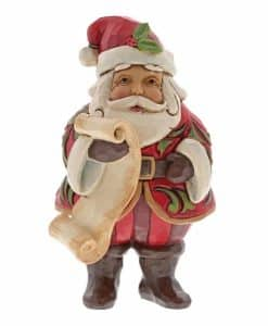 Jim Shore Mini Santa with List 6001495