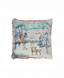 Voyage Maison Winter Peaks Arthouse Cushion AH18003