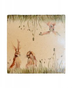 Family 'A' Hare Platter Large FOHL003 3