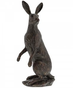 Hare Large Bronzed Ornament A28769