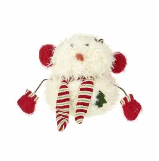 Heaven Sends Snowman with Ear Muffs and Scarf QZL050B
