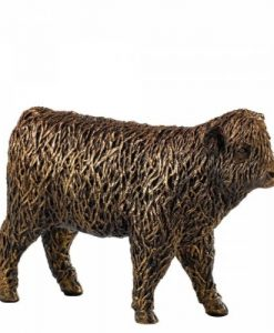 Highland Calf Bronzed Ornament A28712