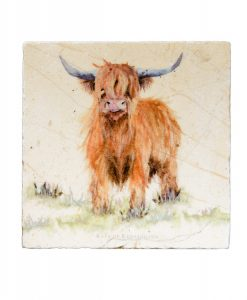 Highland Cow Platter Medium HCWM002 1