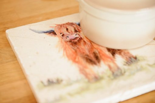 Highland Cow Platter Medium HCWM002
