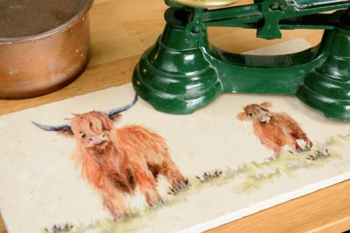 Highland Cow Platter Sharing HCWS004