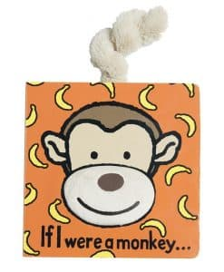 Jellycat If I Were a Monkey Book BB444M