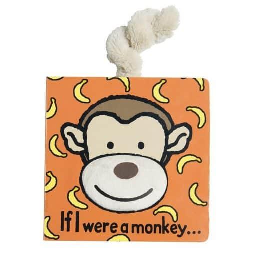 Jellycat If I Were a Monkey Book BB444M