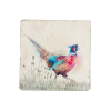 Pheasant in the Grass Platter Medium PHEM002 1