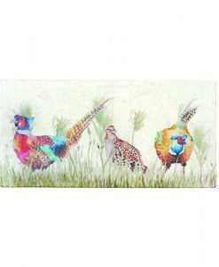 Pheasant in the Grass Platter Sharing PHES005 4