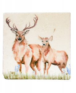 Woodland Stag Platter Medium WSTM002 1