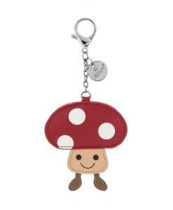 Jellycat Amuseable Mushroom Keyring A6MK