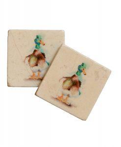 Kate of Kensington Mallard Duck Coasters Main
