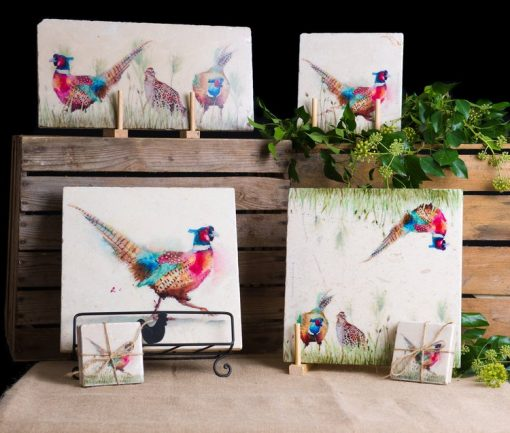 Kate of Kensington Pheasant in the Grass Collection