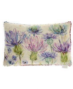 Voyage Maison Thistles Linen Cushion C160165