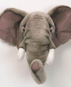Wild & Soft Elephant Head George