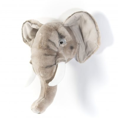 Wild & Soft Elephant Head George WS0033 R