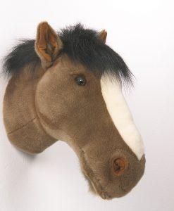 Wild & Soft Horse Head Scarlet