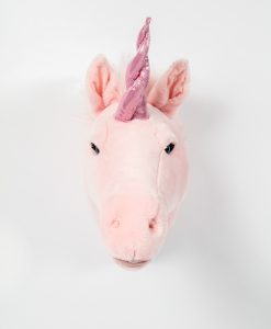 Wild & Soft Pink Unicorn Head Julia