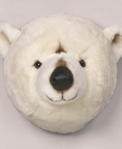 Wild & Soft Polar Bear Head Basile