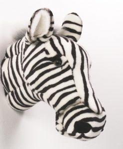 Wild & Soft Zebra Head Daniel