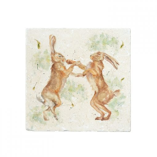 Kate of Kensington Boxing Hares Large Platter