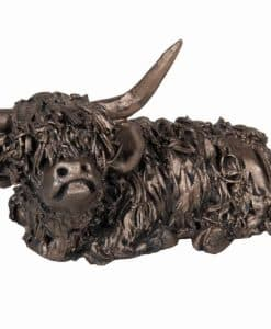 Frith Dougal Highland Cow Sitting Small VBM002