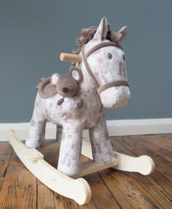 Little Bird Told Me Biscuit and Skip Rocking Horse (9mnth) LB3080