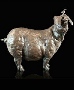 Richard Cooper Bronze Patience the Pig 219BR by Grant Palmer