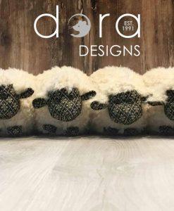 Dora Designs Sheep Herd Draught Excluder