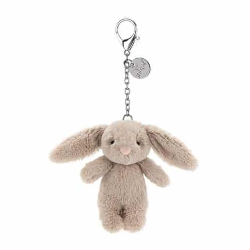 Jellycat Bashful Bunny Beige Bag Charm BB4BBC