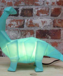 House of Disaster Green Dinosaur Lamp
