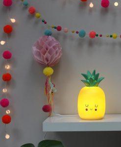 House of Disaster Mini LED Lamp Pineapple