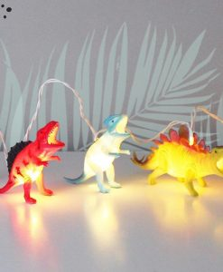 House of Disaster Dinosaur Bright String Lights