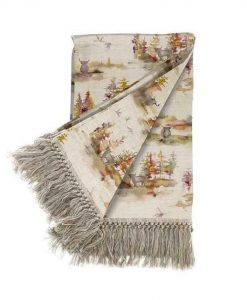 Voyage Maison Caledonian Forest Plum Throw T180006