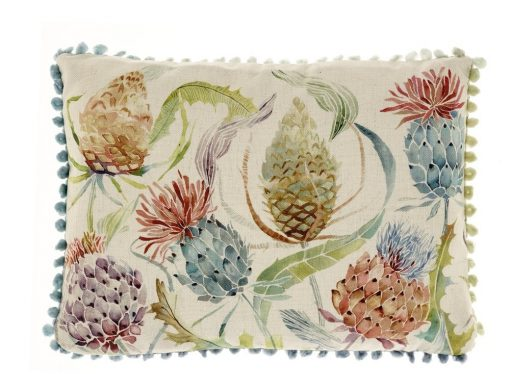 Voyage Maison Meadwell Pomegranate Arthouse Cushion AH17015
