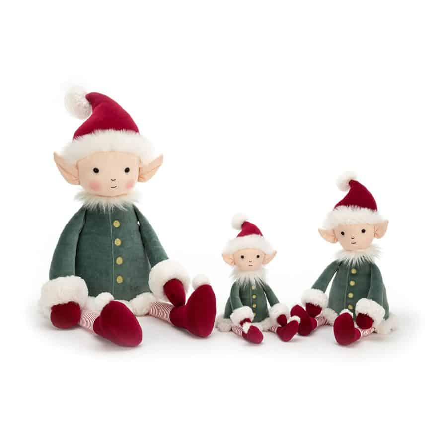 Tree dec in presentation box Jellycat Christmas Kitty Cat out of the Bag
