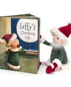 Jellycat Leffy's Christmas Gift Book BK4LEF
