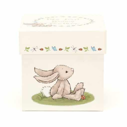 Jellycat My First Beige Bunny Soother BB4MFBS 1