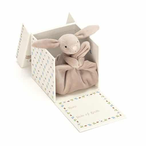 Jellycat My First Beige Bunny Soother BB4MFBS 3