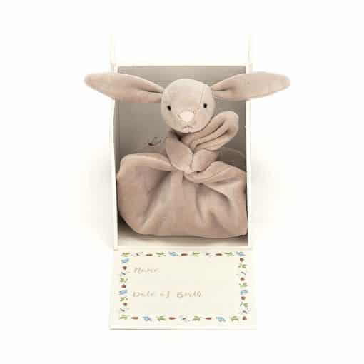 Jellycat My First Beige Bunny Soother BB4MFBS 4