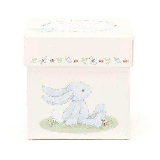 Jellycat My First Blue Bunny Soother BB4MBFS 1