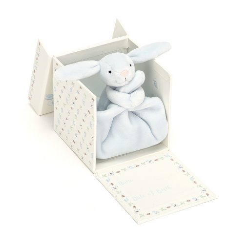 Jellycat My First Blue Bunny Soother BB4MBFS 3