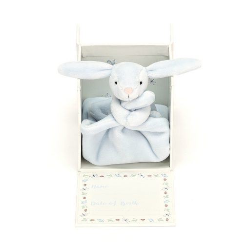 Jellycat My First Blue Bunny Soother BB4MBFS 4