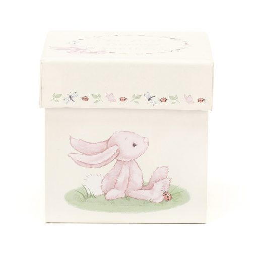 Jellycat My First Bunny Pink Soother BP4MFBS 1